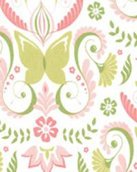 Butterfly Damask Bloom by