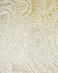 Yellow Classic Paisley Fabric  Saturnia Maize