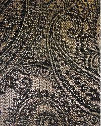 Brown Classic Paisley Fabric  Saturnia Mocha