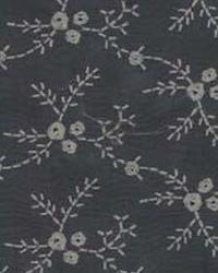 Grey Small Print Floral Fabric  Trend Slate