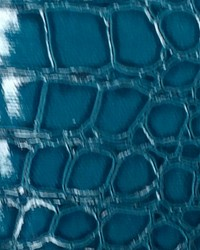 Croco Leather Turquoise by