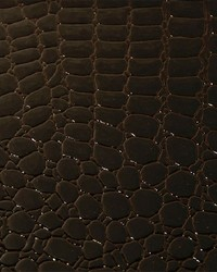 Croco Leather Chocolate by