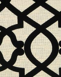 Exotic Tribal Prints Fabric Novel Borgia Noir - 35191