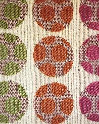 Multi Color Spectrum Mandarin to Fuchsia Fabric  Gordon Petunia 34362