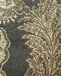 Black Medium Print Floral Fabric  Harriet Midnight 33710