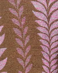 Exotic Tribal Prints Fabric Novel Varese Radicchio 35145