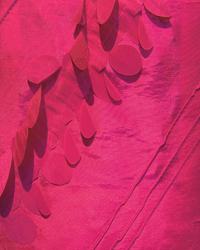 Ribbon Taffeta Fabric  Zermatt Fuchsia Faux Silk 34792