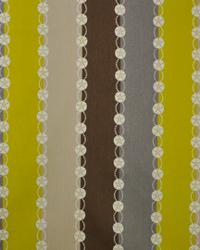 Orien Textiles Belize Stripe Citron Fabric