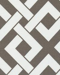 Trellis Diamond Fabric  Boxed In Brindle