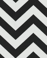 Orien Textiles Chevron Black Fabric