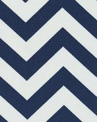 Orien Textiles Chevron Navy Fabric
