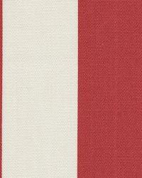 Orien Textiles Deck Stripe Red Fabric