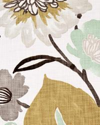 Modern Floral Designs Fabric  Gorgeous Pearl