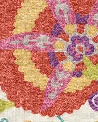 Pink Jacobean Fabrics  Ladbroke Punch