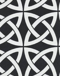 Orien Textiles Linked In Black Fabric