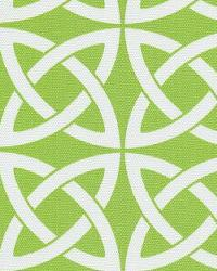 Orien Textiles Linked In Lime Fabric