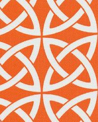 Orien Textiles Linked In Orange Fabric