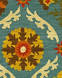 Orien Textiles Mayan Medallion Adobe Fabric