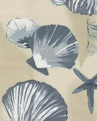 Orien Textiles Sea Shells China Fabric