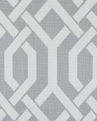 Grey Trellis Diamond Fabric  Slick Grey