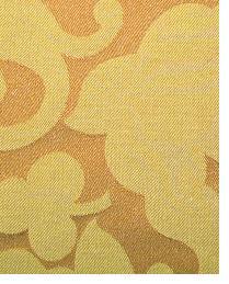 Orange Small Print Floral Fabric  1121-A-Oregano