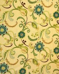 Medium Print Floral Fabric  3300 Opal