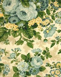 Large Print Floral Fabric  3505 Spa