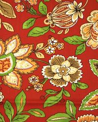 Large Print Floral Fabric  3522 Spice