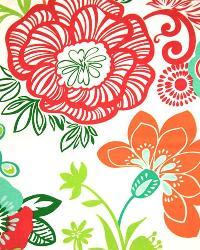 Large Print Floral Fabric  3550 Sherbert