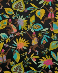 Jungle Safari Fabric  Funky Monkey oasis