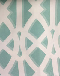 Blue Trellis Diamond Fabric  Elton Seaspray ODL Outdoor Fabric
