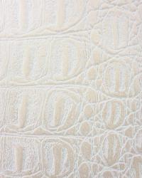 Beige Animal Skin Fabric  Gator Pearl