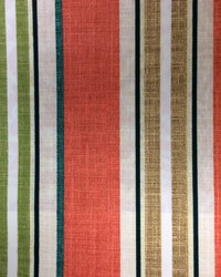 Baja Linen Stripe Coral by
