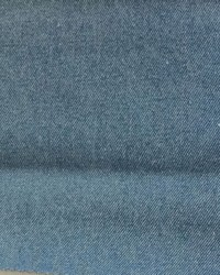 Blue Solid Color Denim Fabric  Denim Stonewash