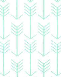 Arrow White Mint Twill by