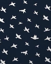 Bird Silhouette Premier Navy W by