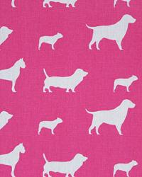 Premier Prints Best Friends Candy Pink White Fabric