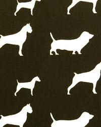 Premier Prints Best Friends Chocolate Natural Fabric