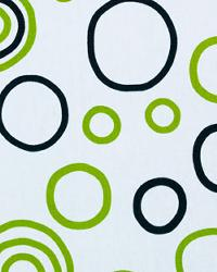 Bubbles Black Chartreuse by