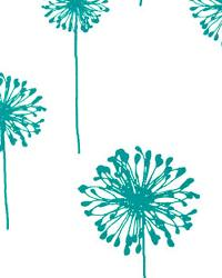 Dandelion White Turquoise by