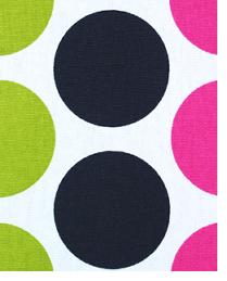 Premier Prints Fancy Candy Pink - Black Fabric