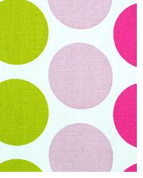 Premier Prints Fancy Candy Pink - Chartreuse Fabric