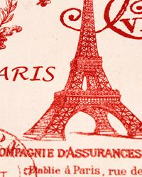 French Stamp Primary Red Natural by