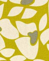 Modern Floral Designs Fabric  Helen Summerland Natural