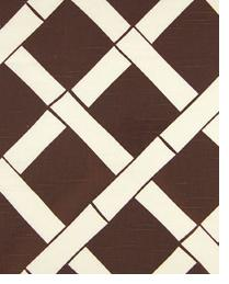 Premier Prints Key West Chocolate - White Slub Fabric