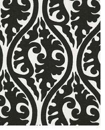 Black Circles and Swirls Fabric  Kimono Black White
