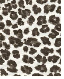 Premier Prints Leopard Black Fabric