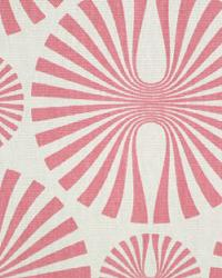 Pink Circles and Swirls Fabric  Media Vanilla Strawberry Ice