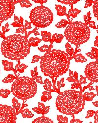 Premier Prints ODT Mums Indian Coral Fabric