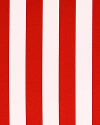 Outdoor Stripe Rojo by